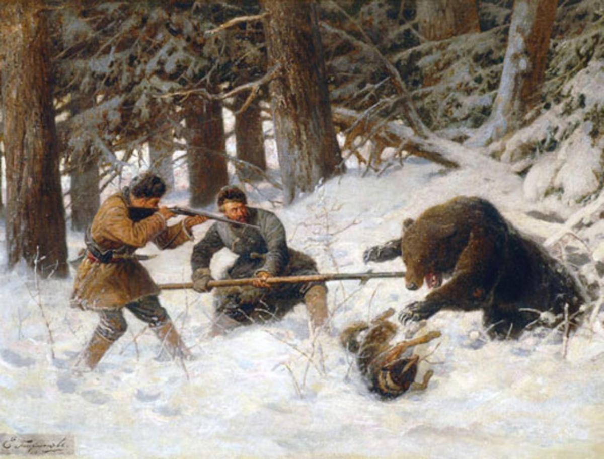 охота на медведя на берлоге на байкале туры